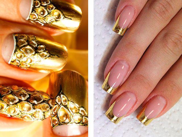 Яроксть и блеск оттенков ногтей на свадебный банкет