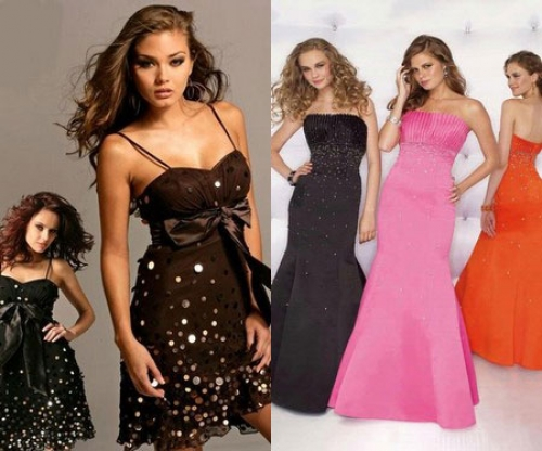 Выбираем платье на выпускной