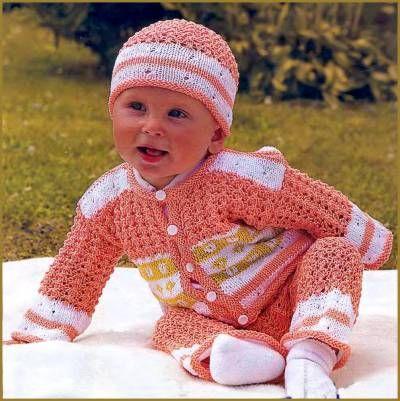 Модная вязаная одежда для ребенка — уютно, нарядно, стильно