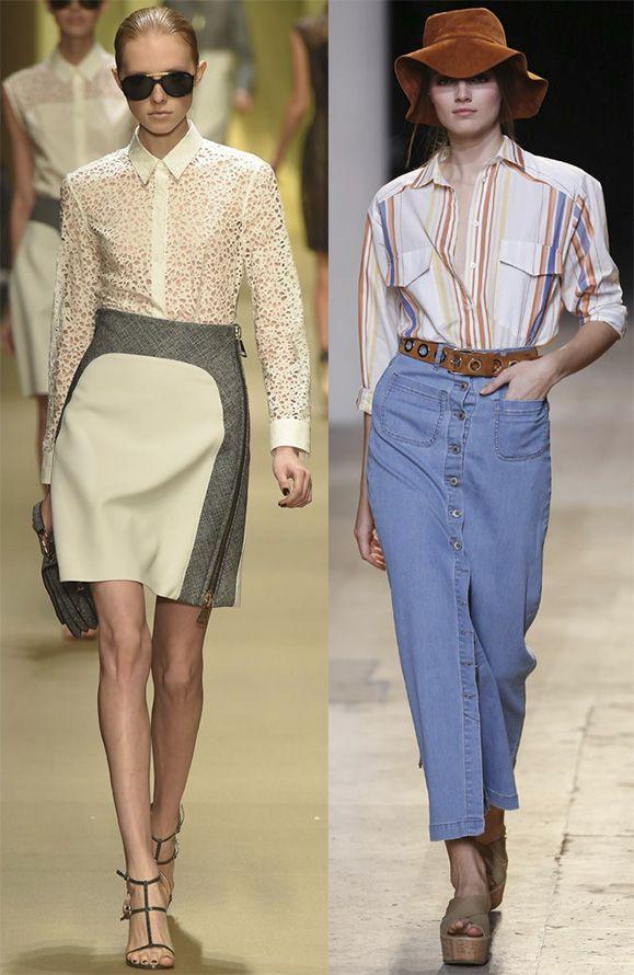 Трендовые женские блузы на весну-лето 2015 года