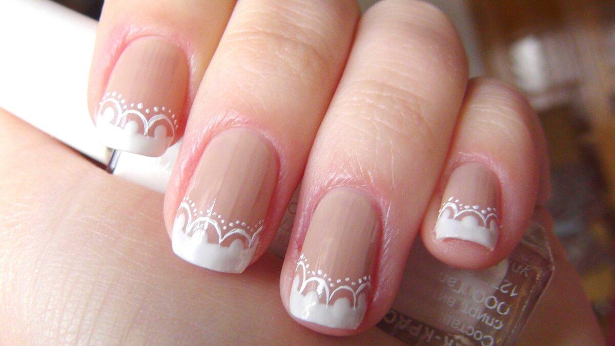 Свадебный маникюр: дизайн ногтей и мастер класс