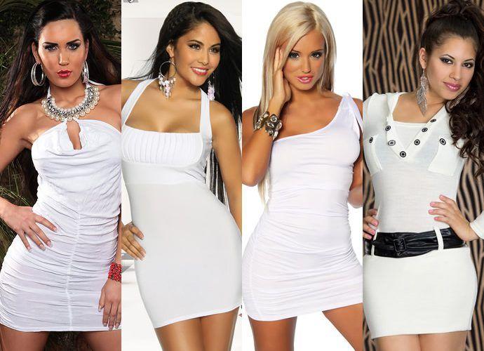 С чем носить белое платье: пять модных образов