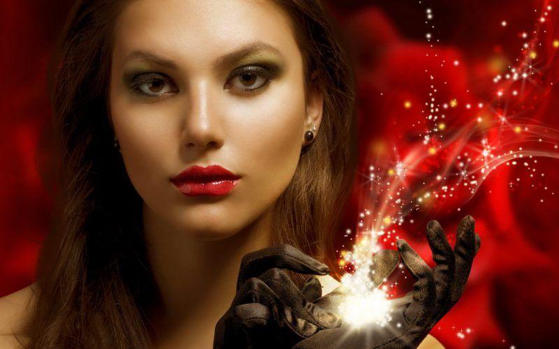 Вечерний новогодний макияж 2012