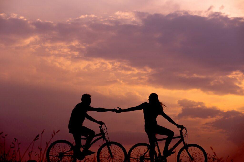 Свадьба велосипедистов: особенности организации