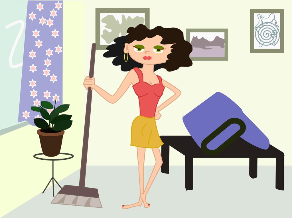 Экологичная уборка в доме