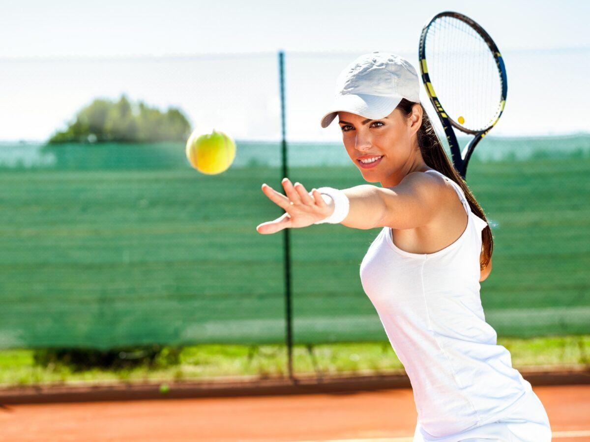 Большой теннис игра и увлечение