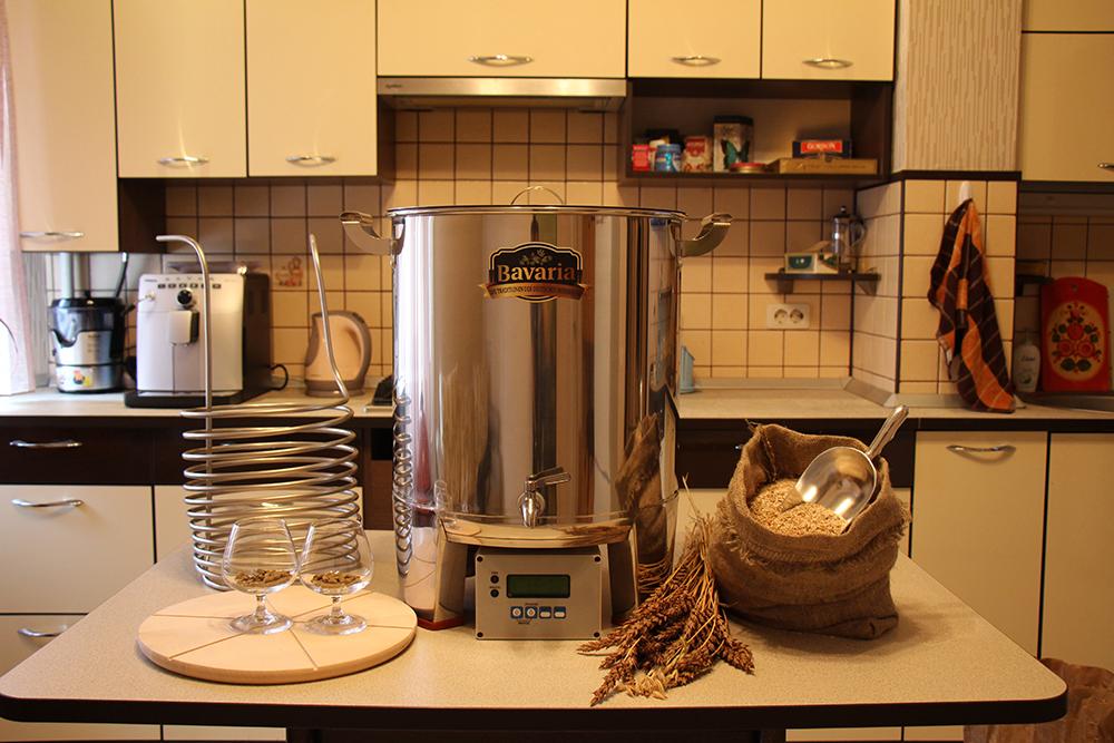 Как варят пиво в домашней пивоварне