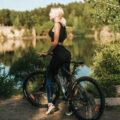 Польза велосипеда для женщин
