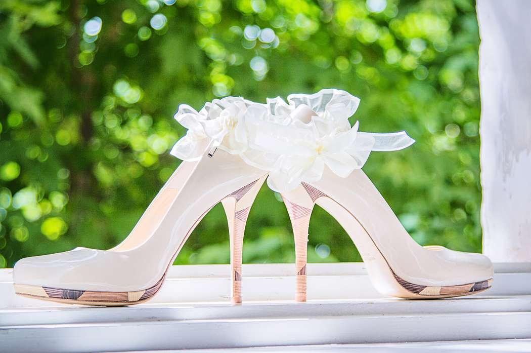 Модные свадебные туфли для невесты
