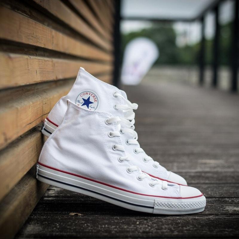 С чем носить стильные кеды Converse?
